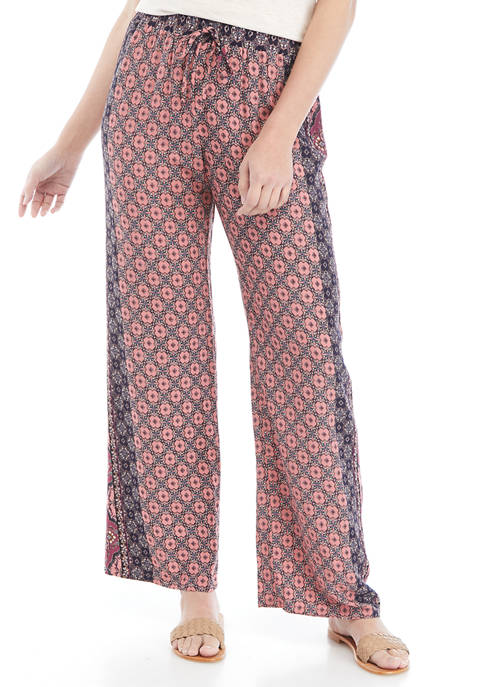BeBop Juniors Printed Challis Pants