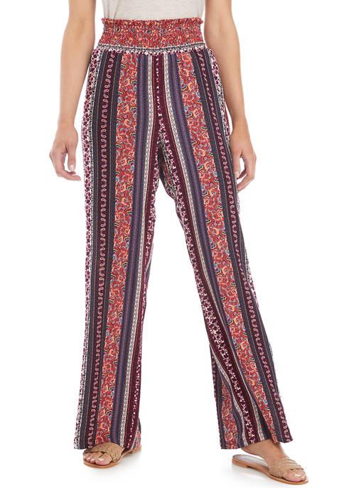 BeBop Juniors Printed Challis Pants