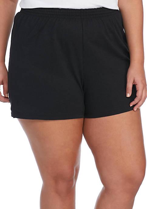 e09b89e206256 Soffe Plus Size Cheer Shorts