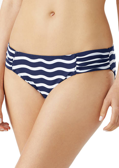 Tommy Bahama® Sea Swell Reversible Side Shirred Hipster