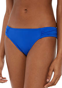 Tommy Bahama® Pearl Side Shirred Swim Hipster Bottoms