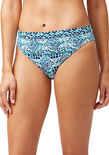 Tommy Bahama® Floral Isles Reversible Banded Hipster Swim Bottoms