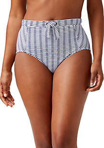 Tommy Bahama® Island Cays High Waisted Swim Bottoms with Trim