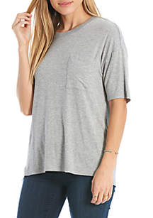 Over-sized Pocket Tee