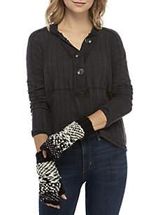 Keep Knit Cozy Fingerless Gloves