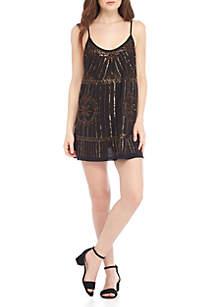 Sedona Embroidered Slip Dress