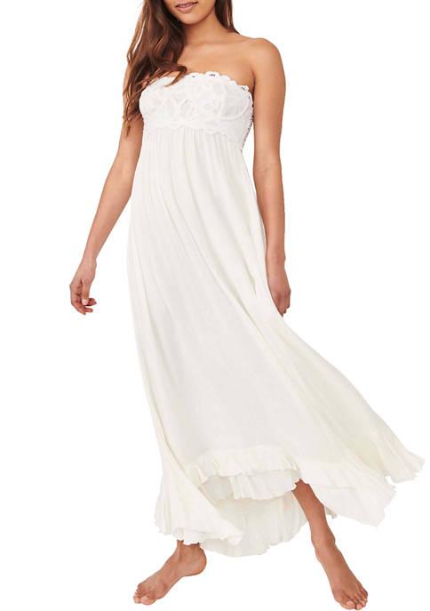 Free People Adella Corset Maxi Dress