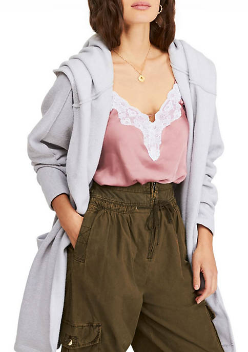 Free People Willow Hooded Cardigan