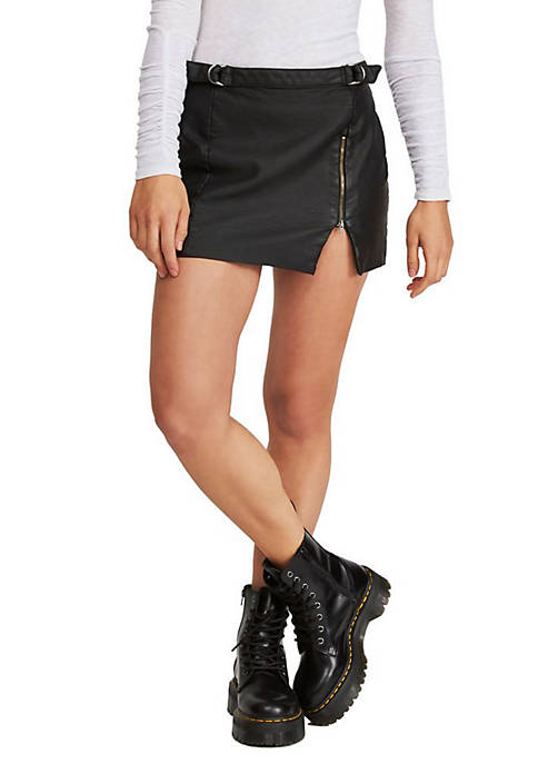 Free People Midnight Magic Mini Skirt