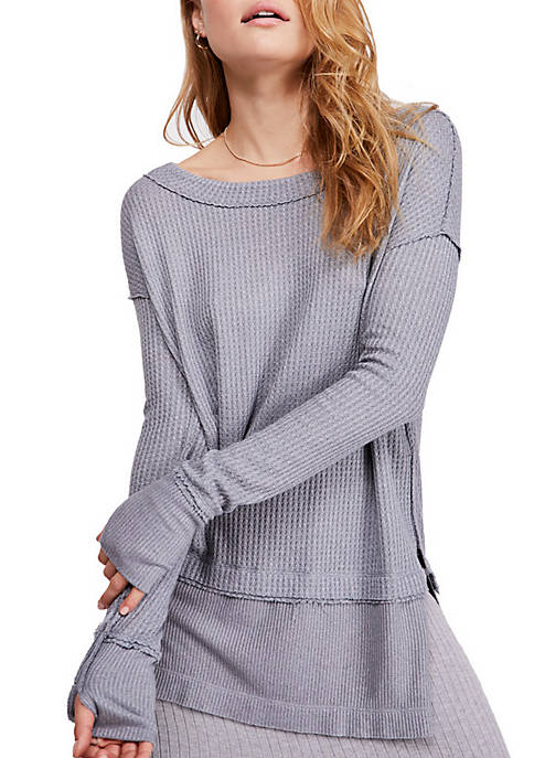Free People North Shore Thermal Tunic