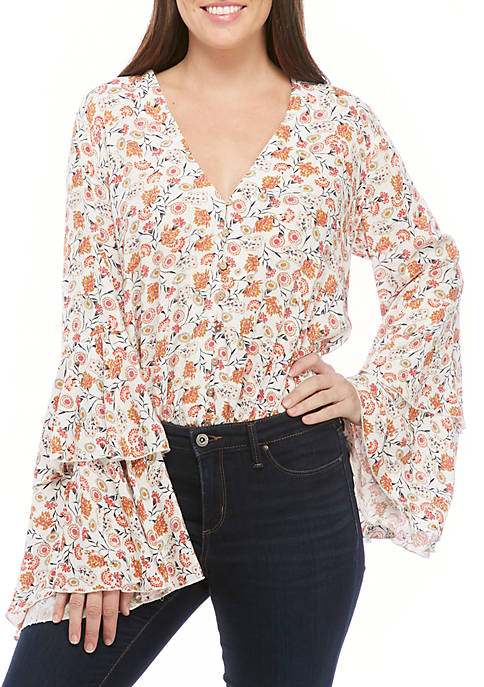 Free People Shes Dainty Bodysuit
