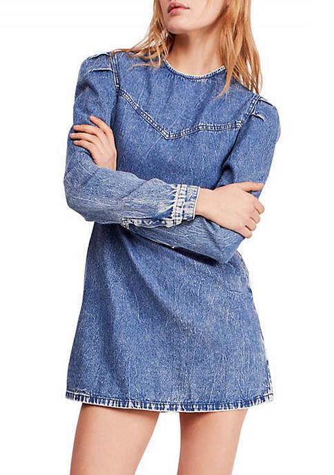 Self Control Denim Mini Dress