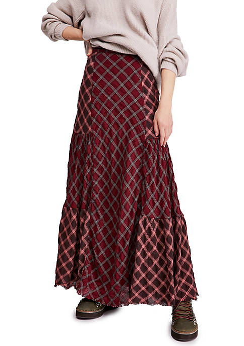Free People Prairie Dreams Maxi Skirt