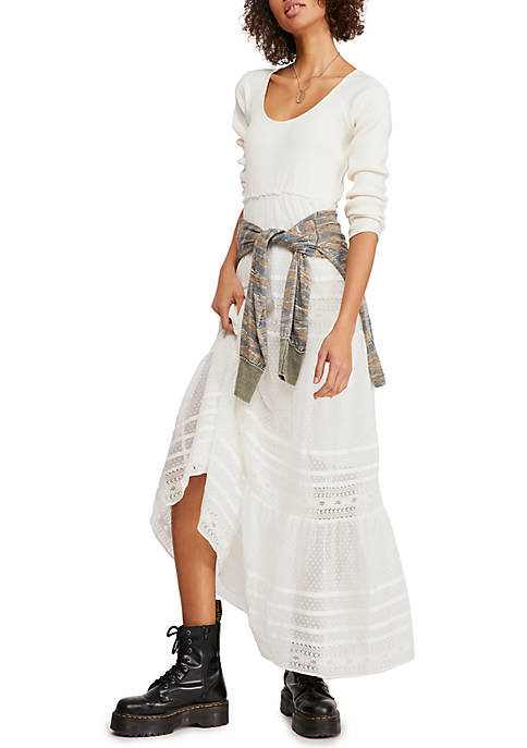 Free People Earth Angel Midi Dress