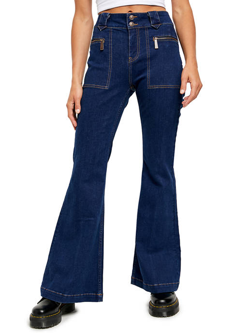 Free People Layla Flare Jeans