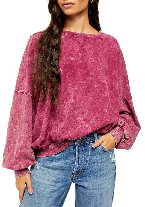 Free People Drop Shoulder Long Sleeve T-Shirt