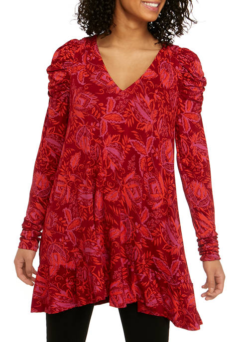 Free People Hello Lover Long Sleeve Tunic