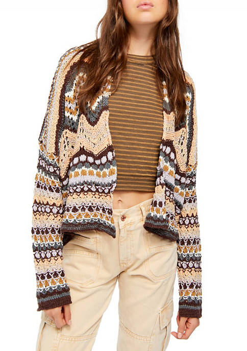 Free People Feeling Nostalgic Cardigan