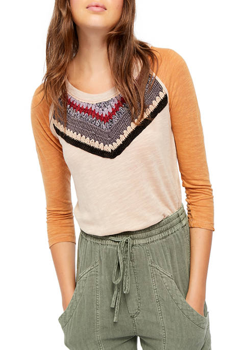 Free People Spring Bound Long Sleeve T-Shirt