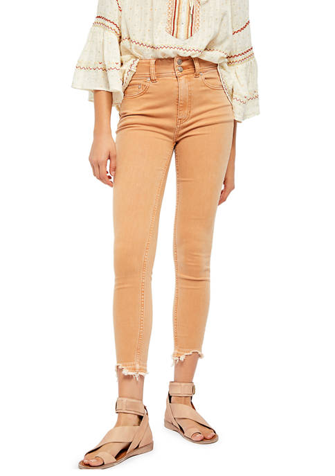 Free People Wild Child Skinny Jeans