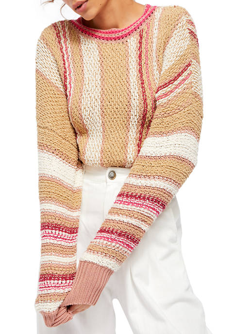 Free People Show Me Love Pullover Sweater