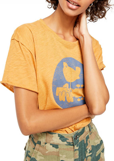 Free People Woodstock Clarity Ringer Graphic T-Shirt