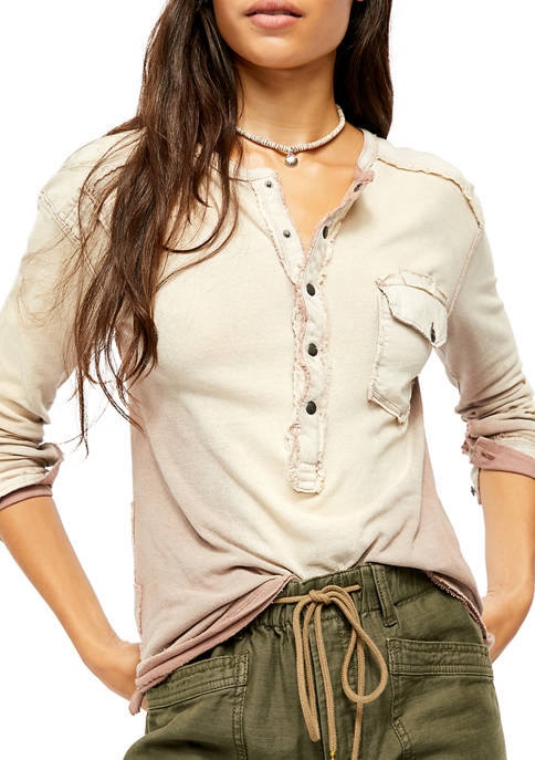 Free People Gene Henley Top