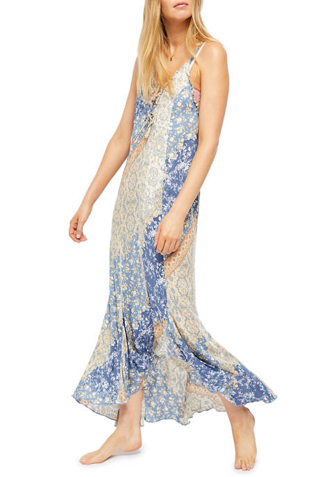 Free People Work of Art Printed Maxi Dress