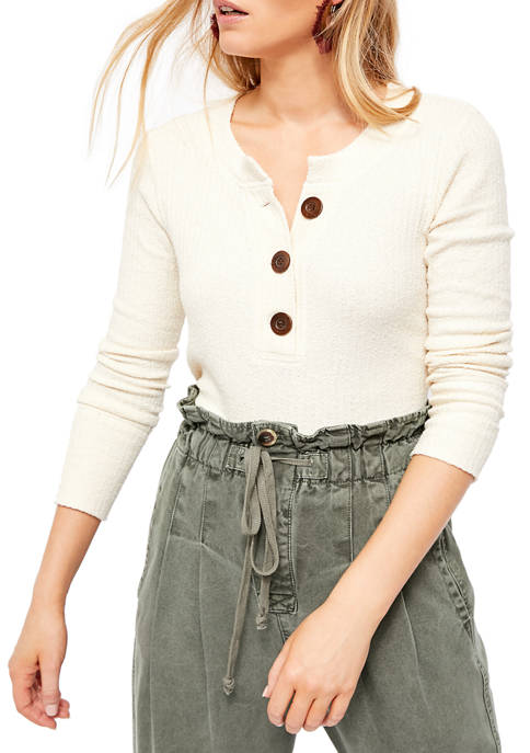 Free People Oliver Henley Top