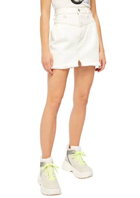 Free People Side Car Mini Skirt