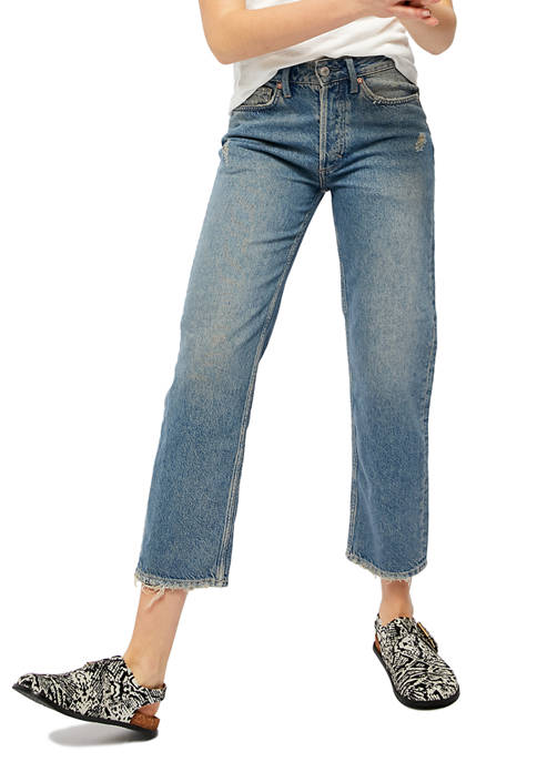 Free People Fast Times High Rise Moms Jeans