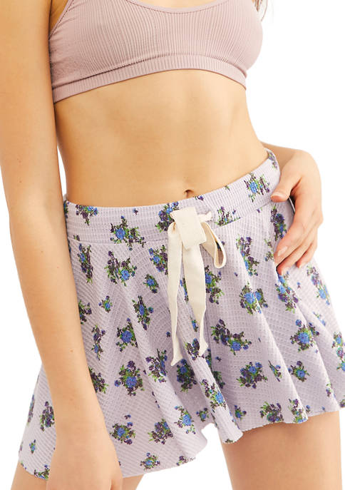 Free People One Of The Girls Printed Shorties