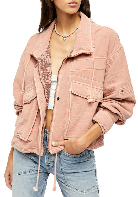 Free People Eyes On You Surplus Jacket
