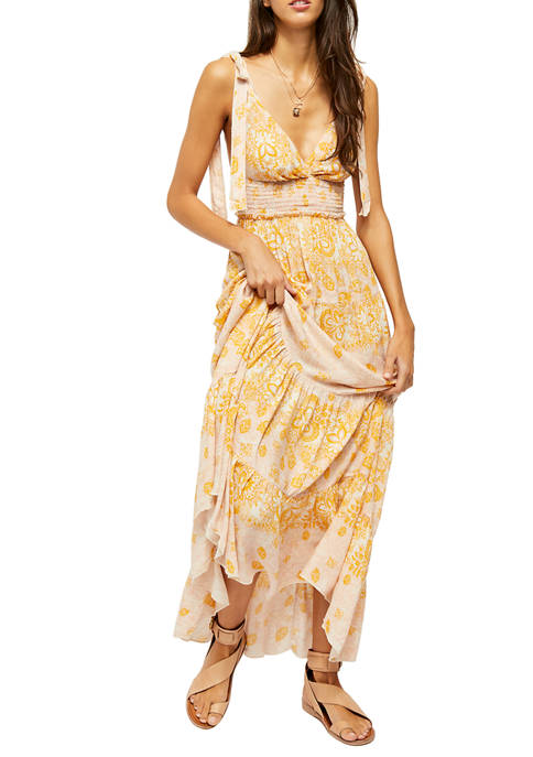 Free People Lets Mock About It Maxi Dress