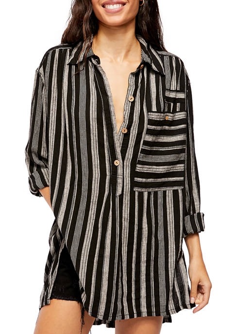 Free People Summer Breeze Stripe Top
