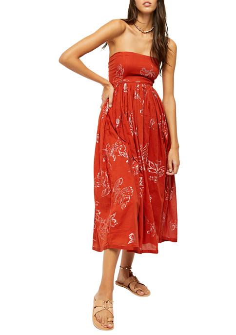Free People Baja Babe Midi Dress