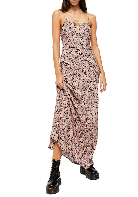 Free People Bon Voyage Midi Dress