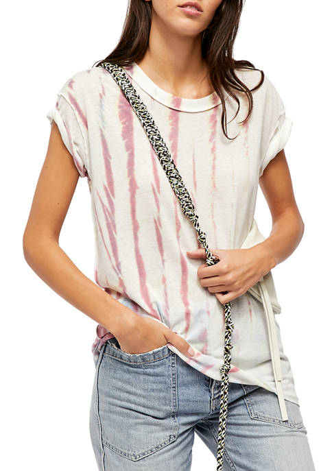 Free People Chill Spot Tie Top
