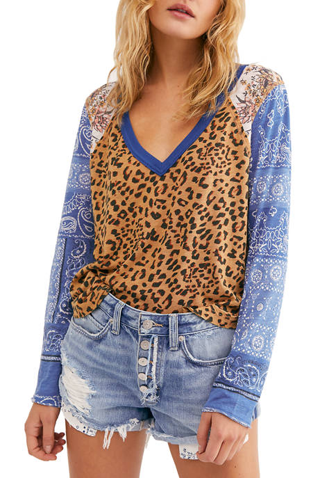 Free People Friday Night Long Sleeve Top