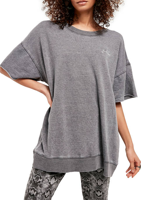 Free People Cozy Cool Girl Lounge T-Shirt