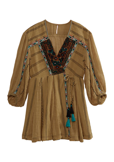Free People Sabeena Embroidered Tunic