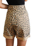 Printed Dogtown Cut Off Shorts