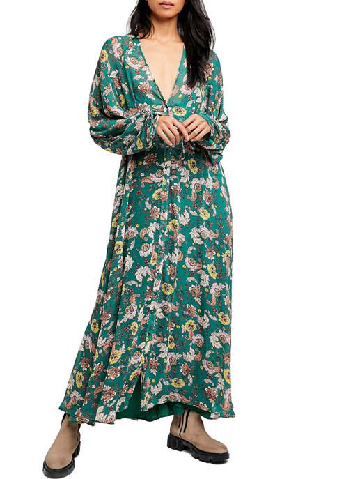 Free People EarthFolk Maxi Dress
