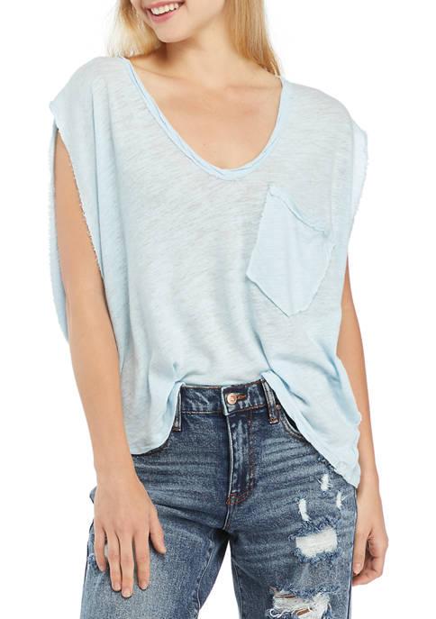 Boxy Pocket T-Shirt
