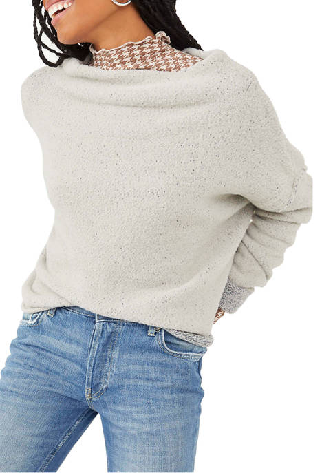 Free People Womens San Vincente Pullover