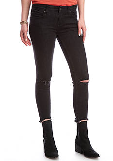 Free People Skinny Destroyed Jeans