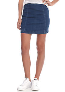 Denim Modern Femme Skirt