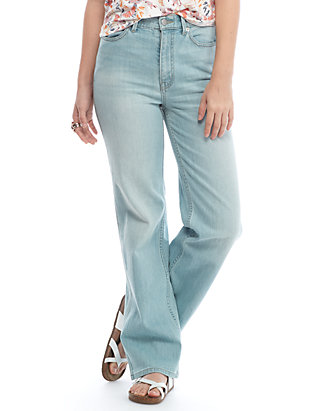sale online provide large selection of timeless design High Rise Straight Flare Jeans