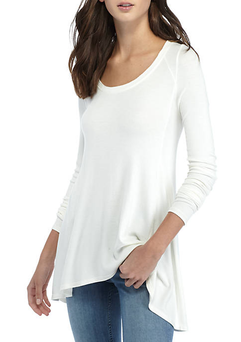 Free People Long Sleeve Flowy Tee