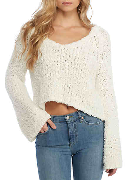 Free People V-Neck Sweater ...